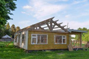 klaar voor het nieuwe dak
