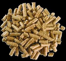 geperst zaagsel, de houtpellet